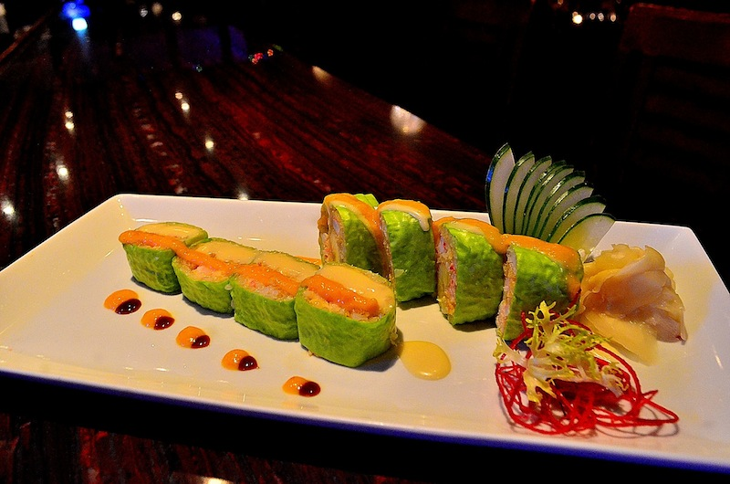 Paradise Roll Aji 53 Bay Shore NY