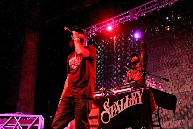 Stalley Performs The Paramount in Huntington NY