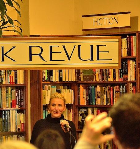 Cameron Diaz The Book Revue Huntington NY