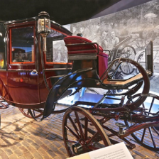 Long Island Museum of American Art History Carriages Display