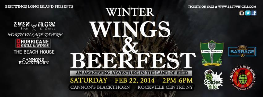 Winter Wings & Beer Festival makes its Long Island debut