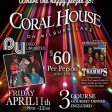 The Coral House hosts a night of legendary disco!