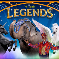 Ringling Bros Barnum & Bailey Circus Legends Tour
