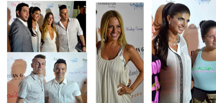 Liquid Mondays White Party with NJ Housewives Teresa Giudice and Dina Manzo