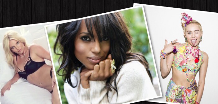 Kerry Washington clothing, Miley accessories, Britney Spears intimates