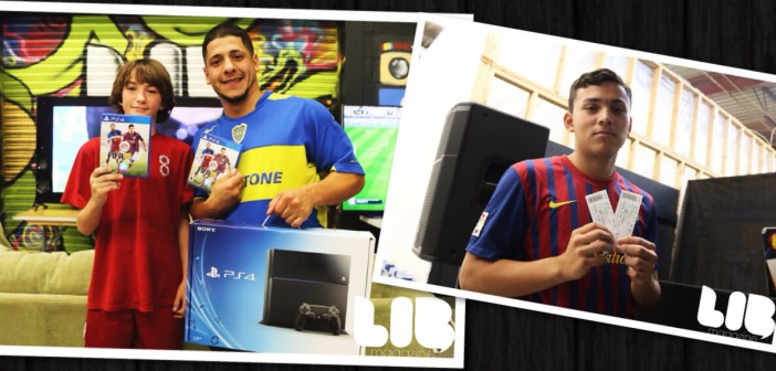 FIFA 15 Tournament 2014 at LIB Mag with SONY and New York Cosmos