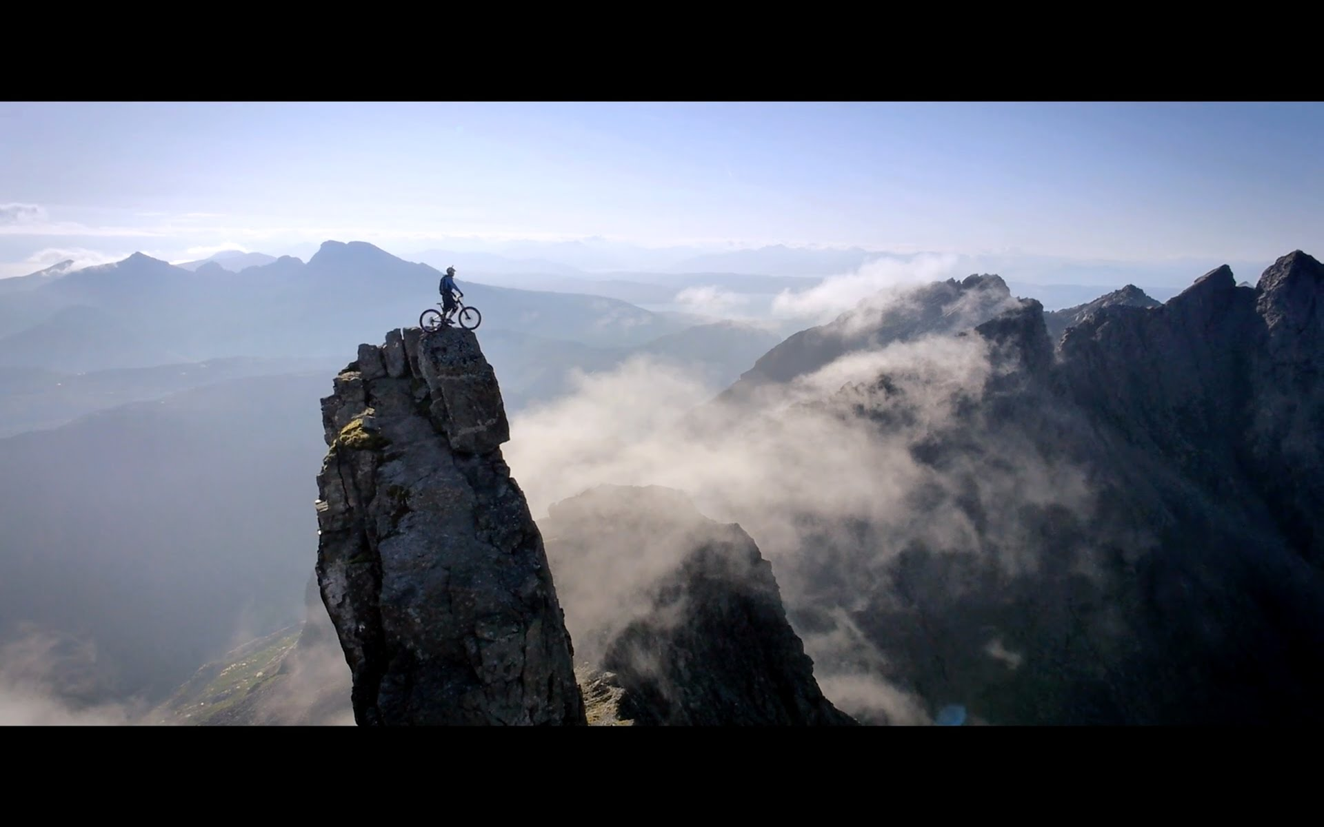 Danny macaskill the ridge lib magazine for Mountain watches