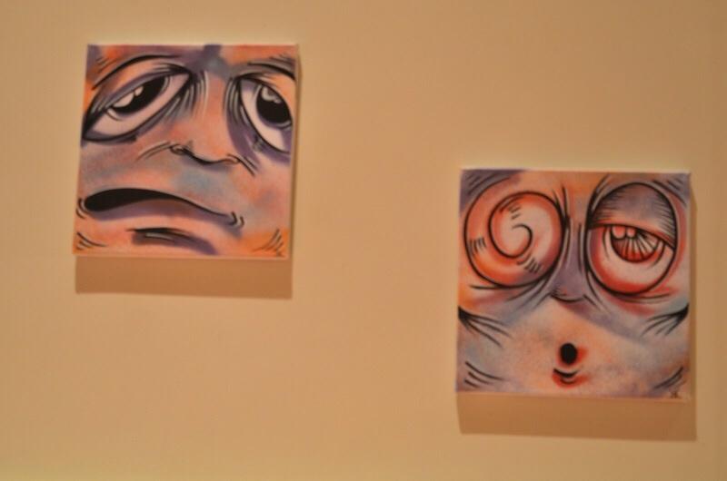 artist faces