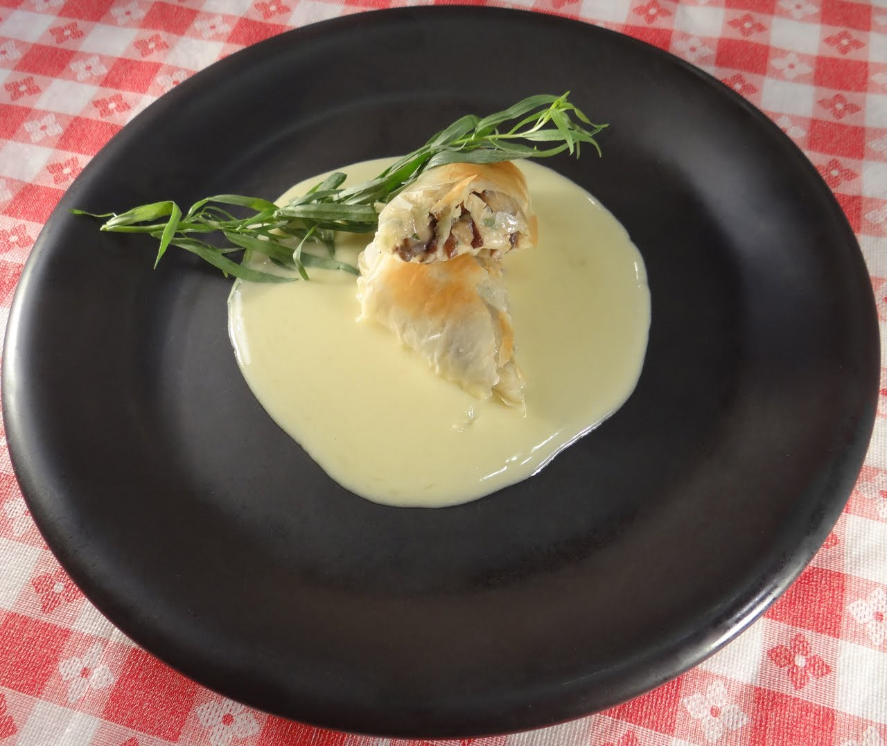 Wild Mushroom Strudel with Beurre Blanc Butter Sauce DIY - LIB ...