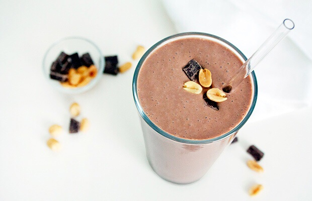 protein shakes peanuts