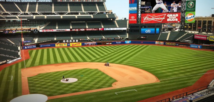 Centerfield Video Board, Citi Field, Daktronics, NY Mets