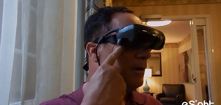 Air Force Veteran Sees for the First Time in 20 Years Thanks to eSight Glasses