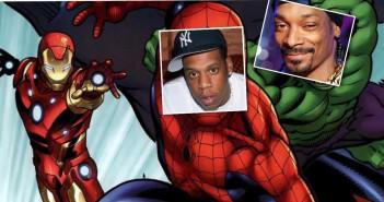 superheroes spider man hulk marvel