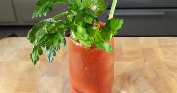 kimchi Bloody Mary recipe