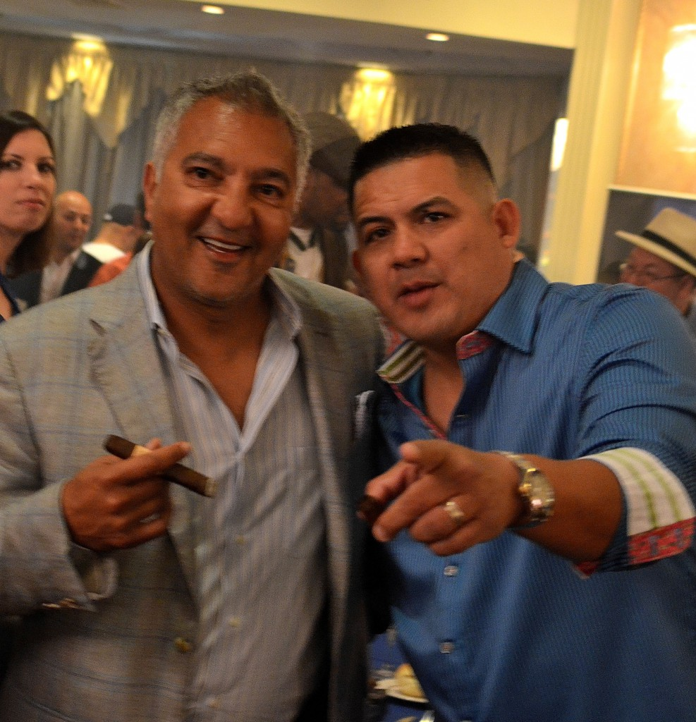 Industry giant Rocky Patel and retailer Miguel Baez