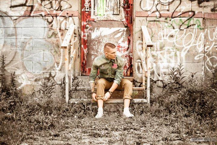 Mike Check Graffiti America Photograph