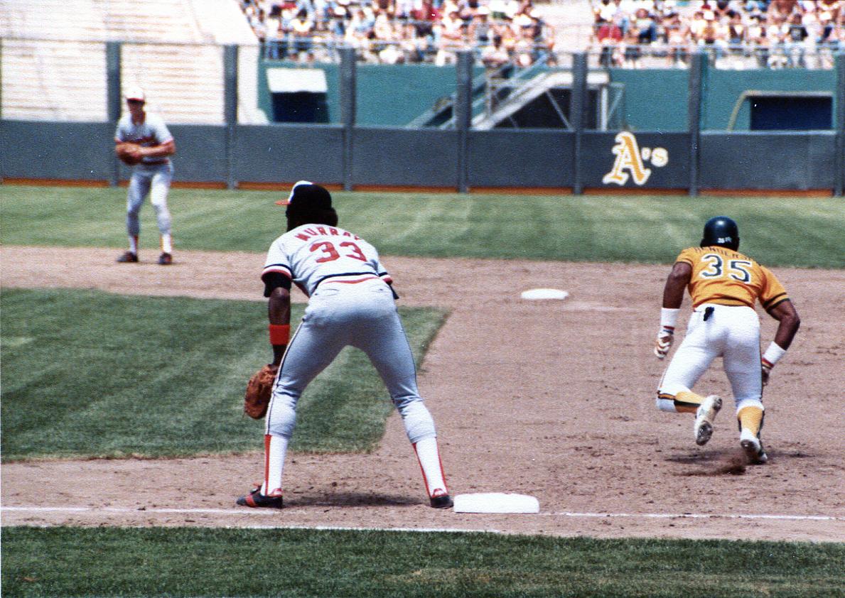 Rickey Henderson Oakland Atheltics 1983