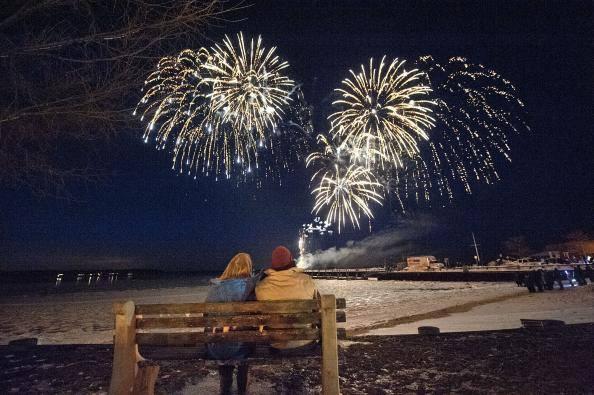 HarborFrost Grucci Fireworks Sag Harbor