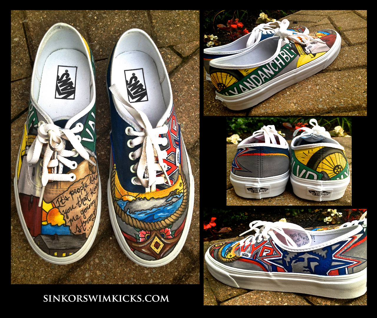 one of a kind shoes by sink or swim kicks lib magazine
