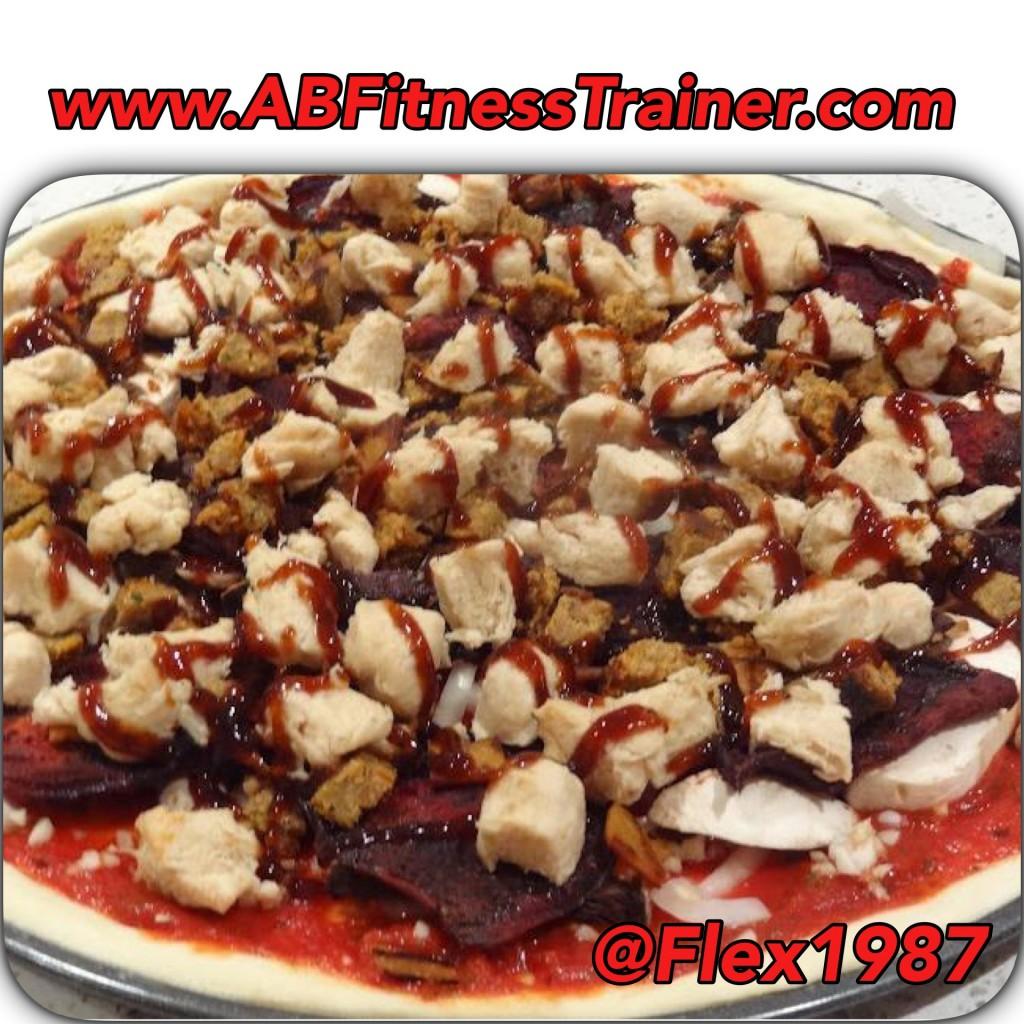 bbq chicken healthy pizza