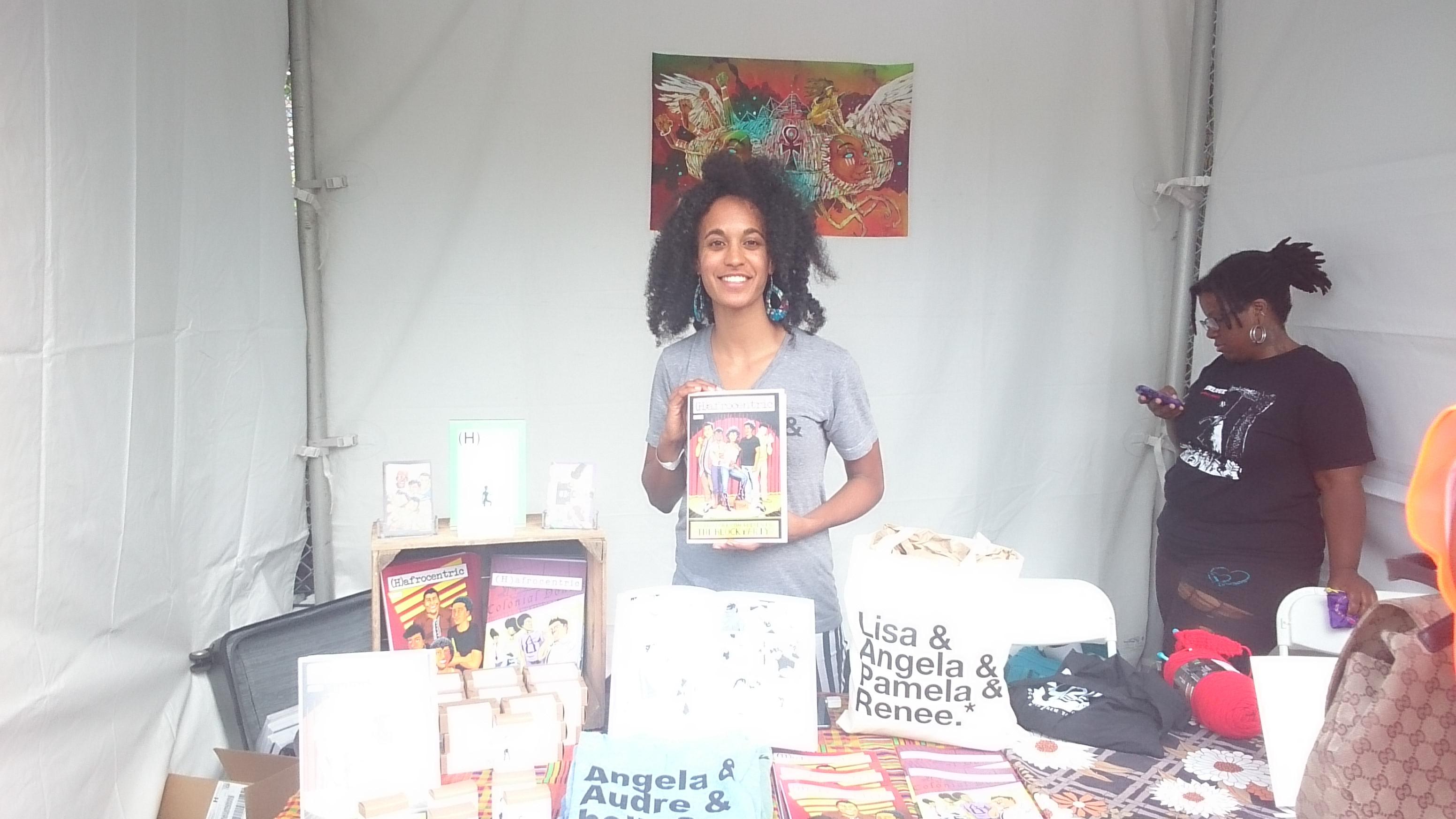 afropunk festival books shopping outdoor vendors brooklyn