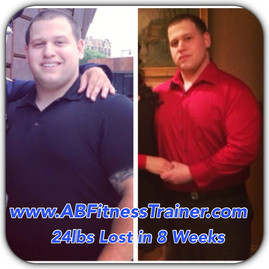 weight loss anthony Bevilacqua