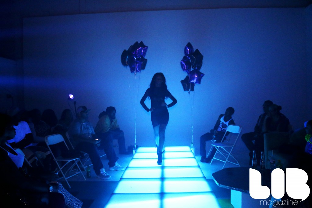August 16th Fashion, Mics and Everything Nice Fashion Show at LIB Media Studio.  Runway Courtesy of Groove NY.