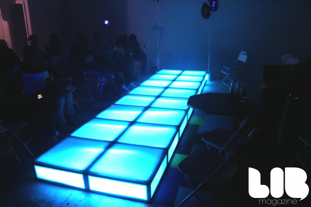 LED Runway by Groove, NY