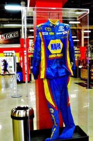 Napa auto parts nascar suit