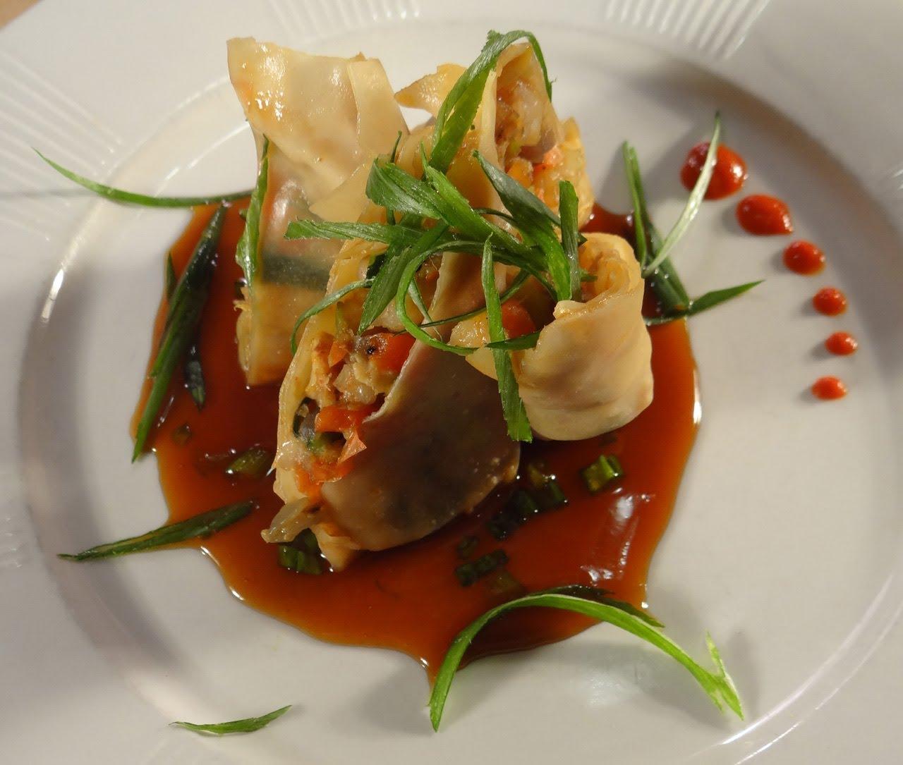 Shrimp Spring Rolls with Soy Miso Glaze DIY - LIB Magazine