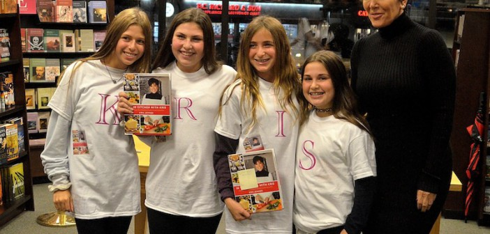 """Kris Jenner """"In the Kitchen with Kris"""" Book Signing at Barnes & Noble Carle Place"""