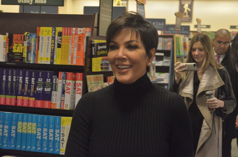 kris kardashian barnes and noble