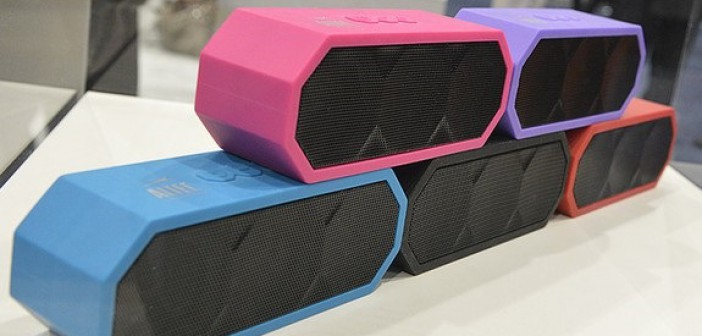 Altec Lansing, The Jacket, Altec Lansing The Jacket, Bluetooth, speaker, music, tech, rechargeable, portable