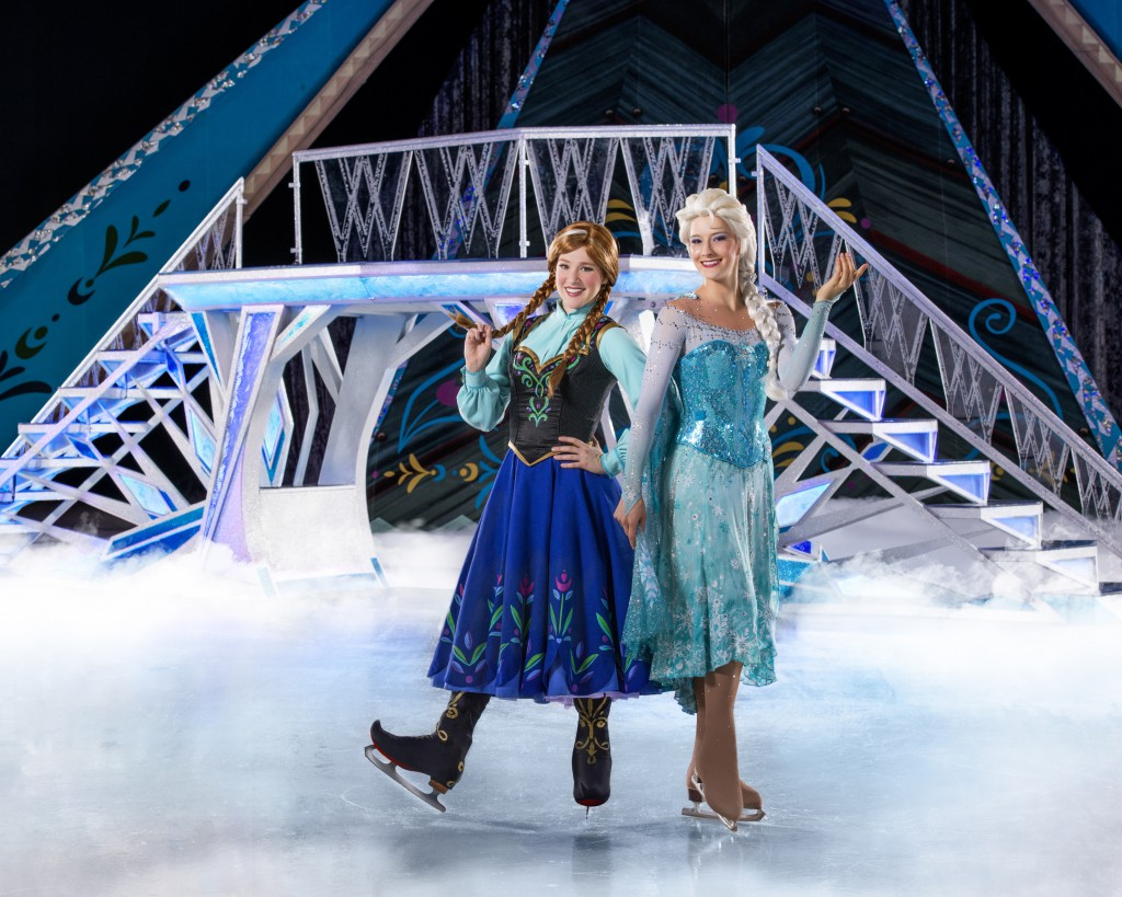 elsa frozen on ice
