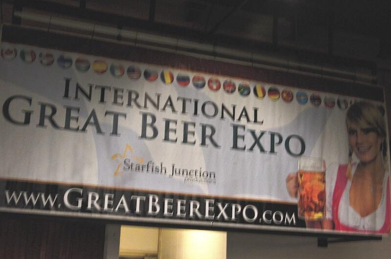 International great beer expo Belmont racetrack