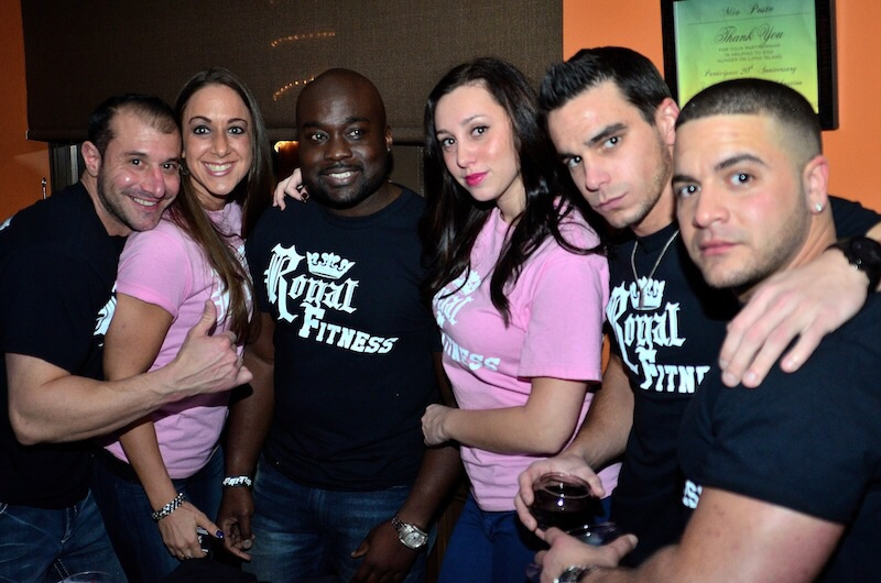 amber marchese party royal fitness levittown