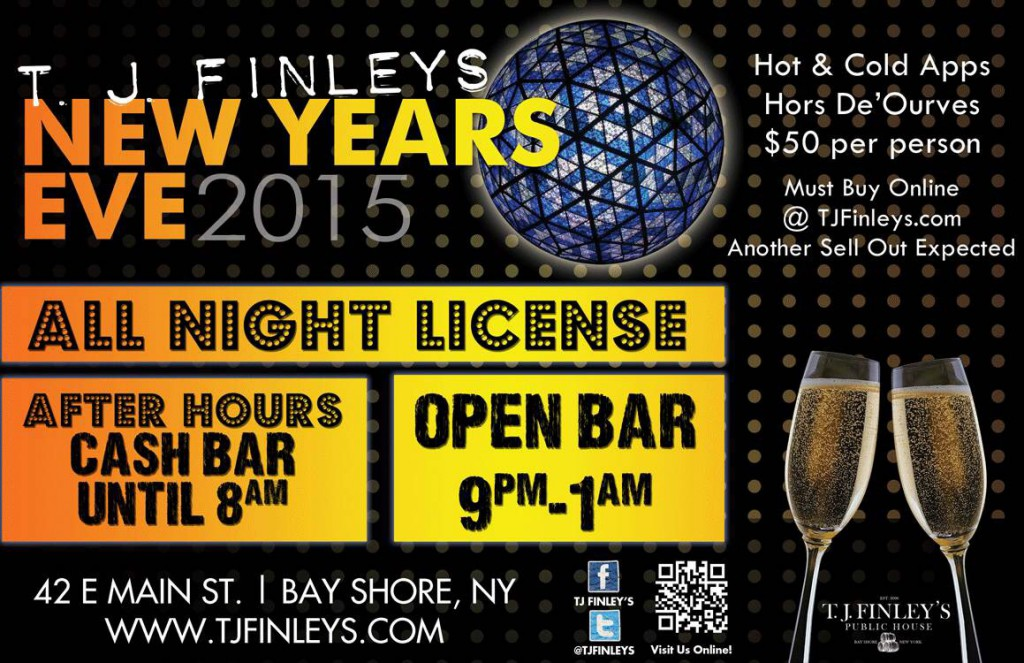tj finleys New Years eve