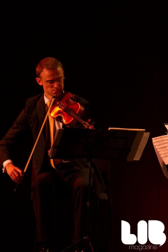 violinist lincoln center amphion