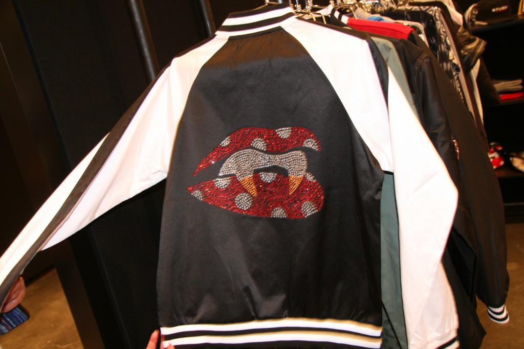 stussy embellished jacket