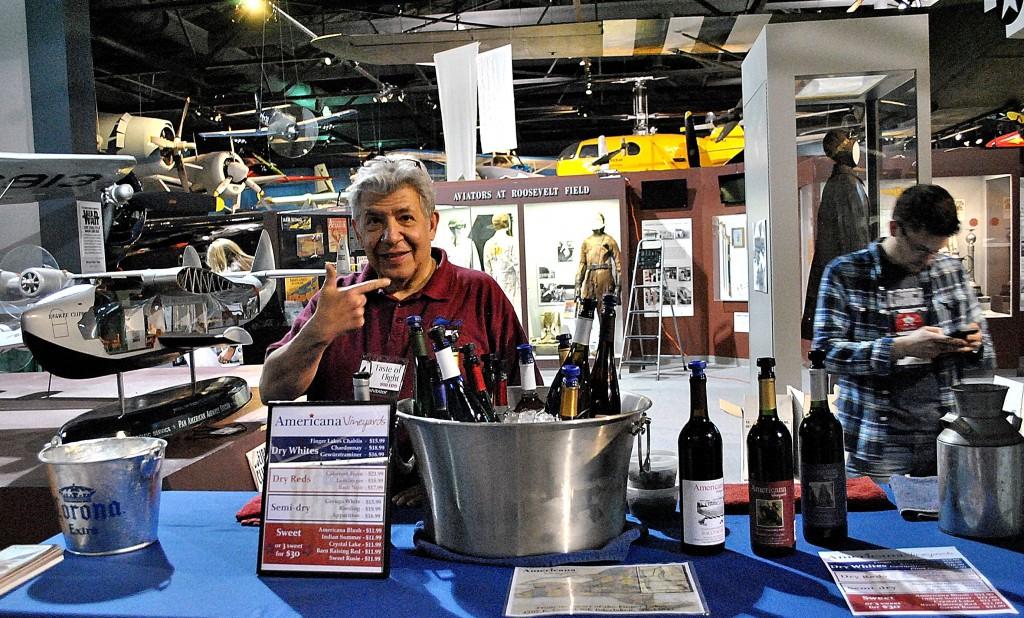 americana wine vinyard