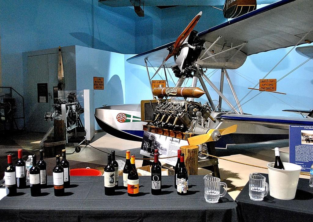 taste of flight wine cradle of aviation