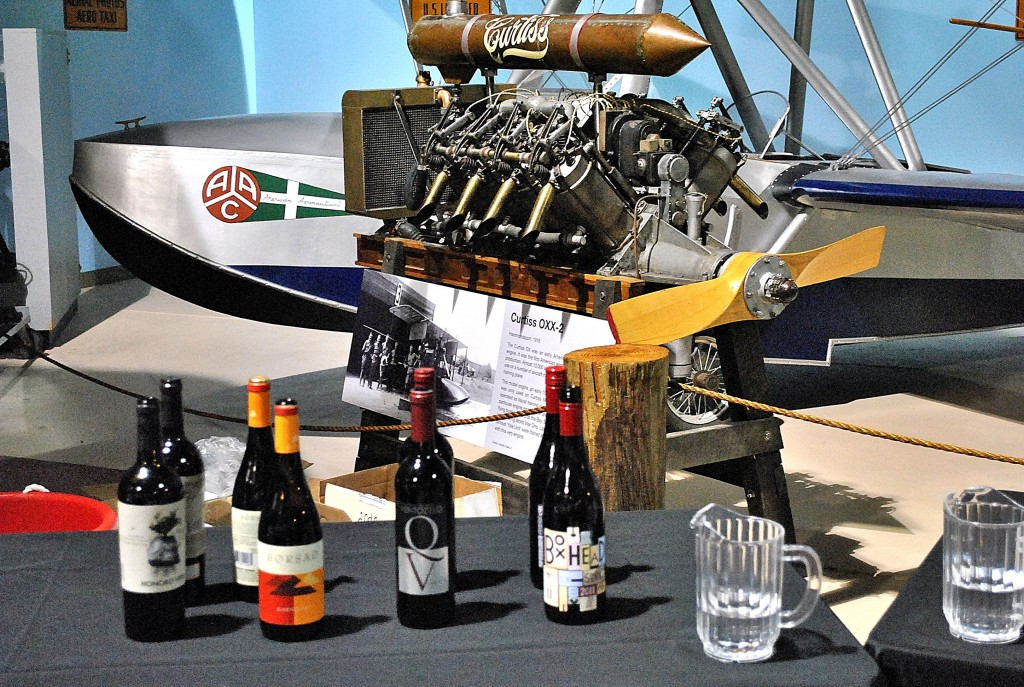 wine cradle of aviation