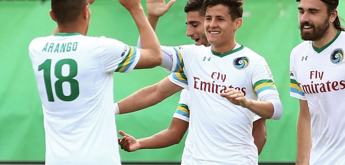 NY Cosmos roll past Rowdies