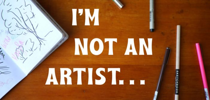"""I'm Not An Artist…"" : The Sketchbook Project DeBUNKS This Myth"