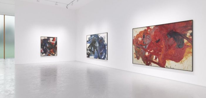 Fergus McCaffrey Art Gallery Presents Kazuo Shiraga: Tales of the Water Margin
