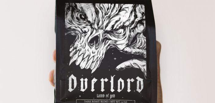 LAMB OF GOD & Nightflyer Roastwork Create Overlord Dark Roast Coffee