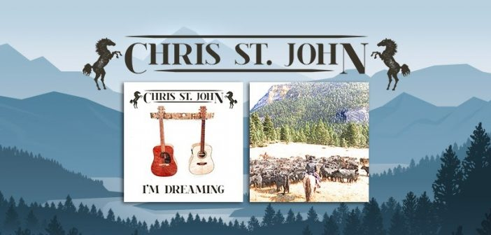 CHRIS ST JOHN RELEASES THE ALBUM I'M DREAMING